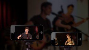 iPhones und iPods dienen als Kameras
